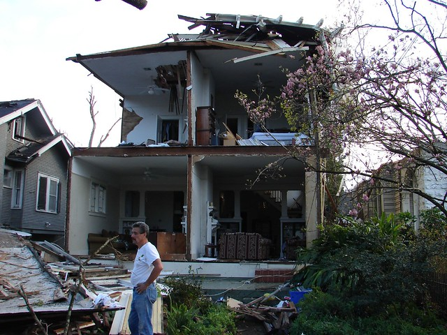 New Orleans Tornado Damage