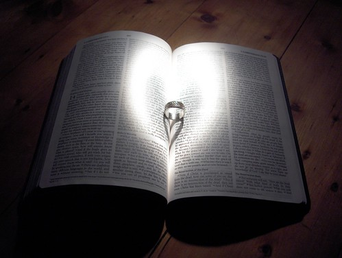 Ring + Bible + Flashlight = Heart