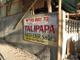 talipapa sign | by mookE