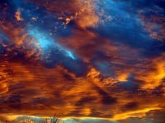 SUNSET IN THE PUEBLO