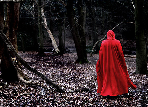 Little Red Riding Hood II by Maria Kristin Steinsson