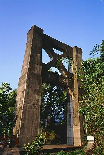 Y388集集濁水溪大橋橋墩