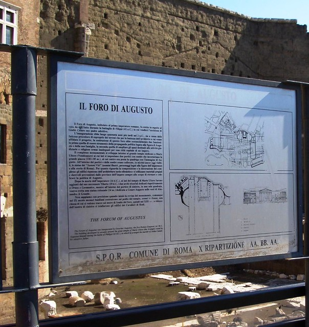 Rome - the Imperial Fora: Forum of Augustus Excavations (2004-2006).