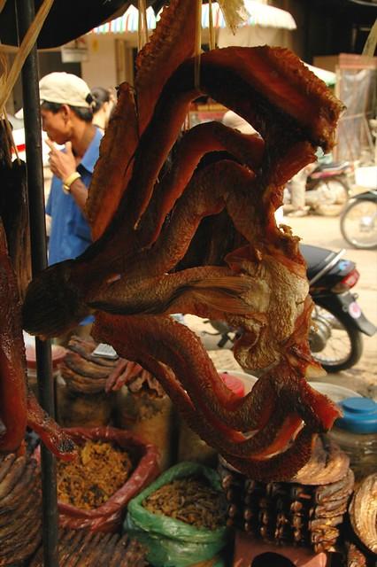Dried Fish - Battambang, Cambodia
