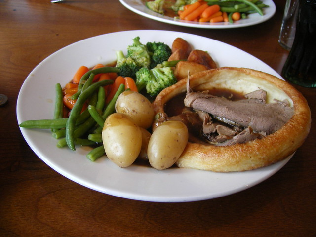 Sunday roast beef - newcastle