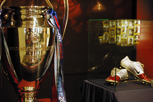 Camp Nou Trophy Room
