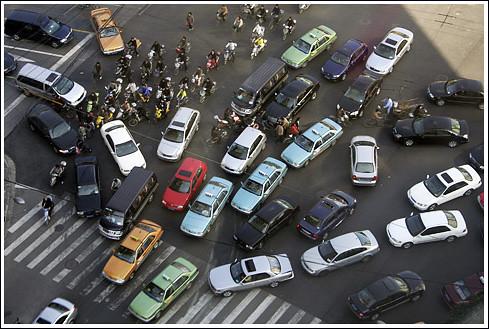 traffic jam -B