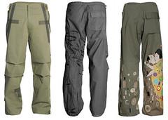 denim(0.0), jeans(0.0), pattern(1.0), clothing(1.0), cargo pants(1.0), trousers(1.0), khaki(1.0), pocket(1.0),