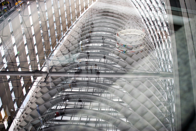 Foro Internacional de Tokyo, Glass Hall. Japón.