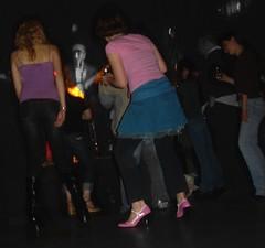 20070420 Monkey Girls at Blank Club 12