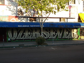OZER SEVER MSK AWR SeventhLetter 7th LosAngles graffiti Art