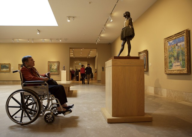My mother and a Degas dancer