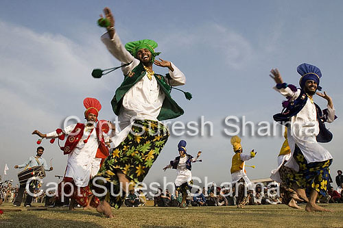 Bhangra  - Folk Dance of Punjab State of India