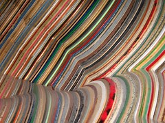 Closeup of Materials exhibit