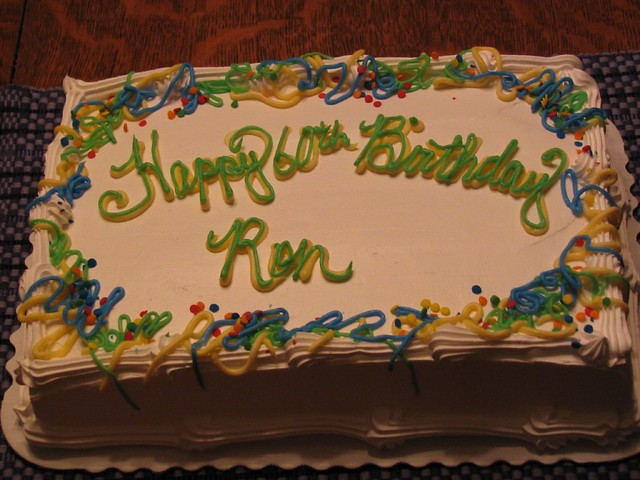 Birthday Cake Image For Ron : Happy 60th Birthday, Ron! Flickr - Photo Sharing!