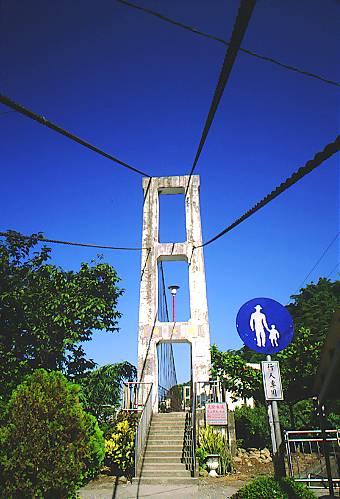 Q076阿里山公路天長地久橋