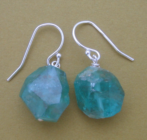 Apatite Nugget Earrings (SD_387)