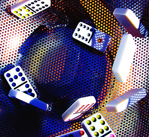 Dominoes In Motion