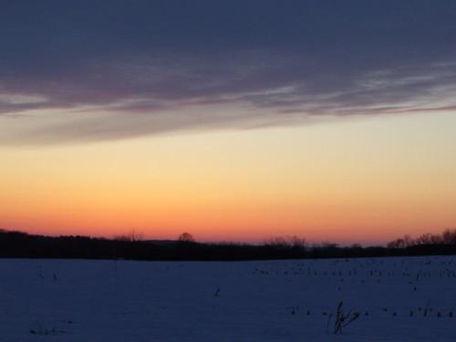 sunset sky horizon melanie keekeelouise