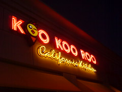 What is a kookaroo? Mentioned get him to the greek