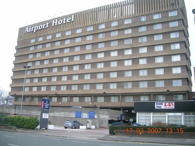 Britannia Airport Hotel Manchester Postcode
