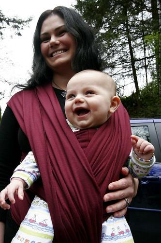 baby bundler   mother, child    MG 1775
