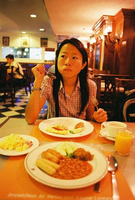 Breakfast @ the hotel