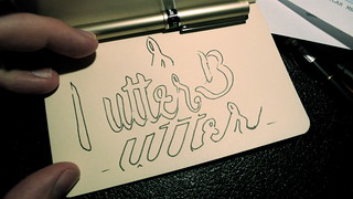 Butter Label logo sketches