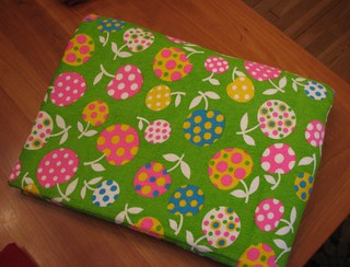 my fabulous vintage terry cloth fabric score!
