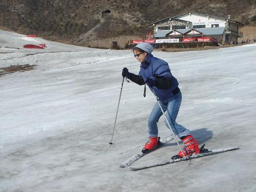 Skiing in Beijing