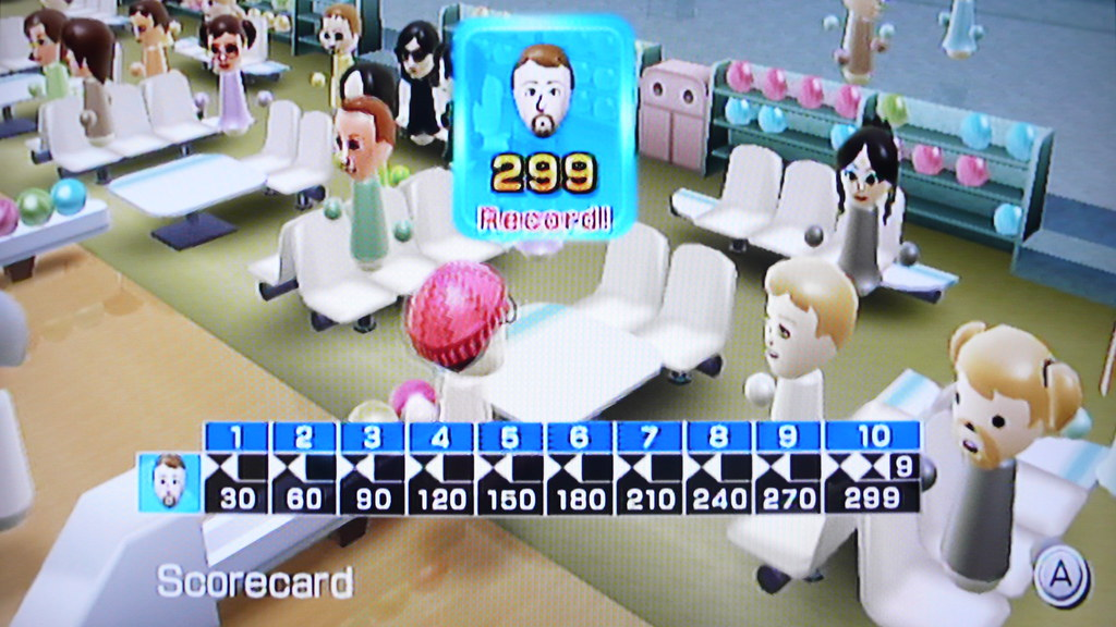 299 in Wii Sports Bowling
