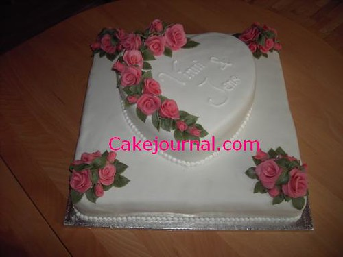 wedding cake marzipan wedding cake with marzipan roses flickr photo 23239