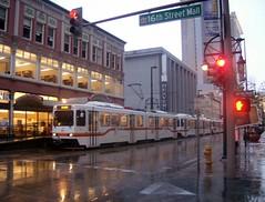 RTD Light Rail on the 16h Street Mall, Denver CO