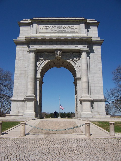 Valley Forge Pa National Memorial Arch Flickr Photo Sharing