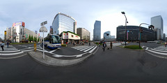 In the front of Tokyo Station (Yaes side)