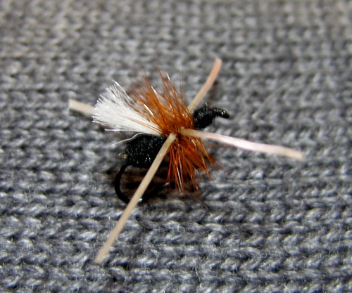 Power Ant Fly : Fly times old timey fishing power ant