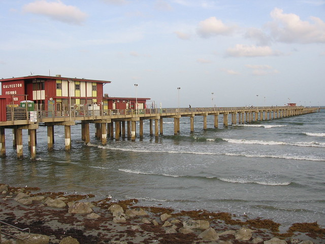 Galveston fishing pier flickr photo sharing for Galveston pier fishing