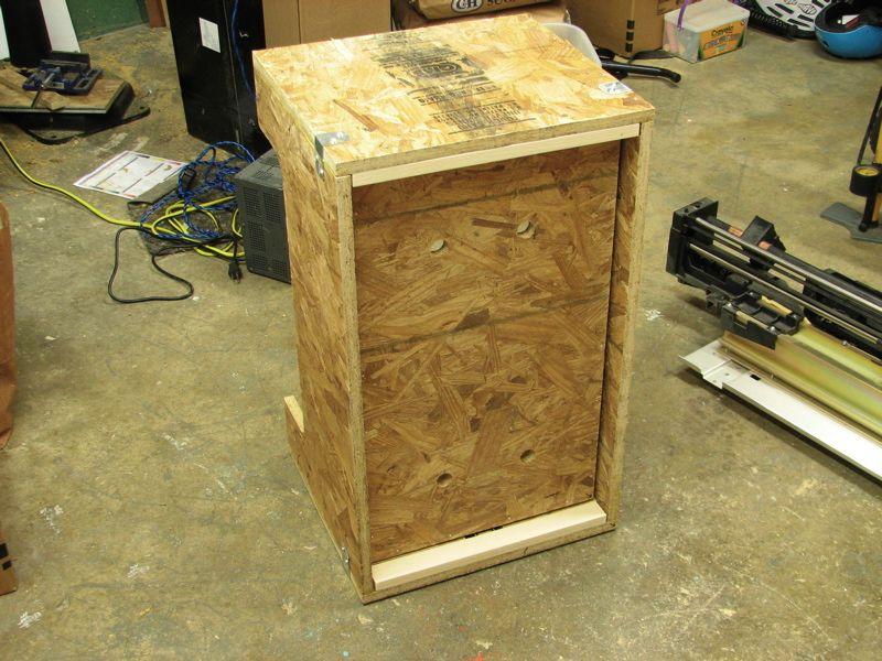 Box and piston (raised)