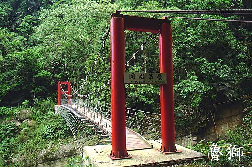 P020古坑草嶺十景同心吊橋