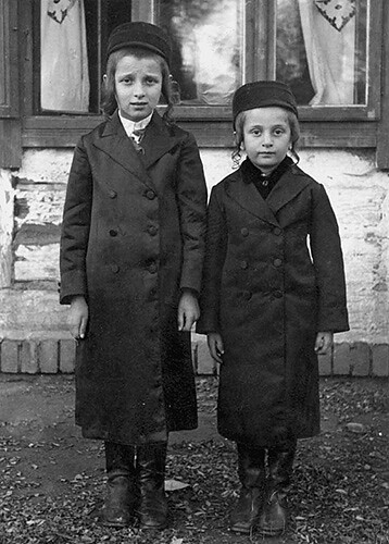 Jewish boys from Blazowa (Bluzhev)