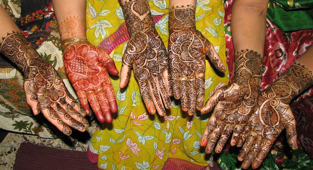 Mehndi Colours