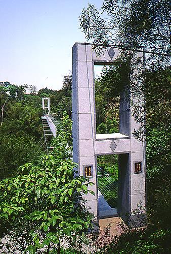 R462龍崎虎形山公園望龍吊橋
