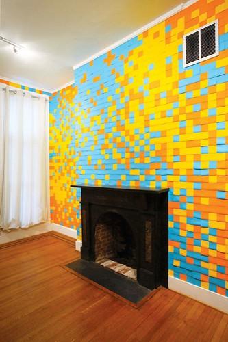 post it notes art shoplet. Black Bedroom Furniture Sets. Home Design Ideas