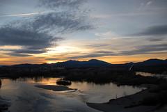Sacramento River at Sunset