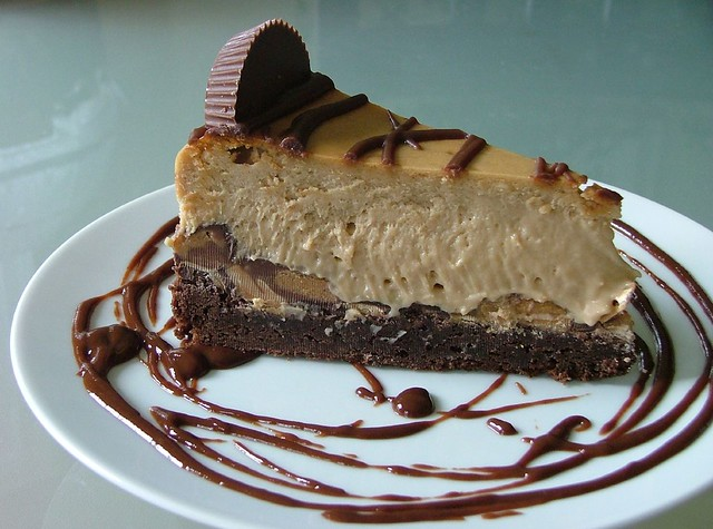 Peanut Butter Cup Brownie Bottom Cheesecake | Flickr - Photo Sharing!