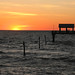 Sunset: Clearwater Beach by Phoney Nickle