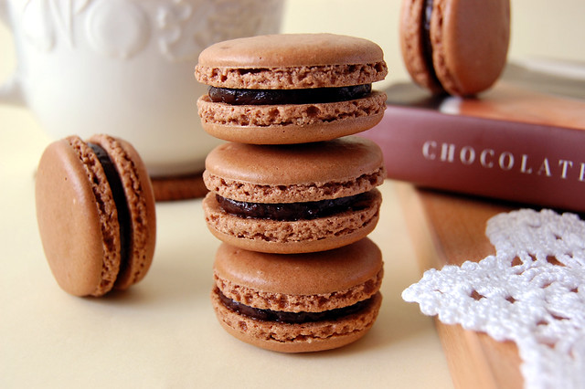 Chocolate Macarons | Flickr - Photo Sharing!
