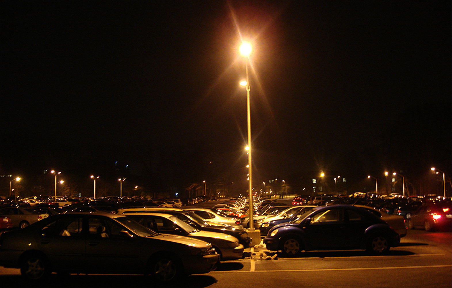 there'z **** in da parking lot
