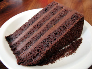 Dark Devil's Chocolate Cake