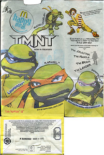"McDonald's ""TMNT"" / MADAME ALEXANDER - ""THE WIZARD of OZ""  Happy Meal i  (( 2007 ))"